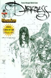 The Darkness #2 (2003) Megacon Sketch Variant Top Cow comic book